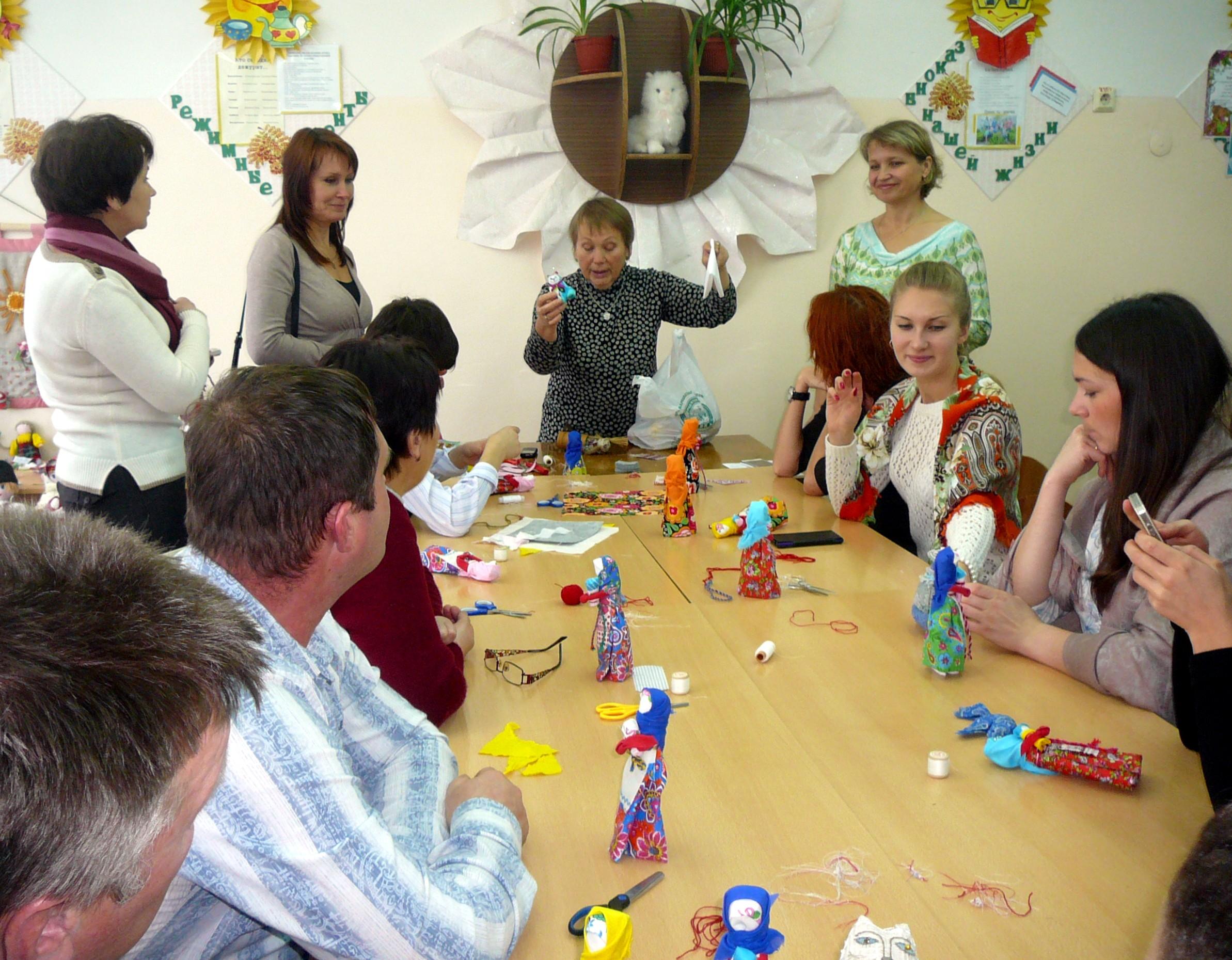 Творческий проект - Народная кукла Берегиня дома