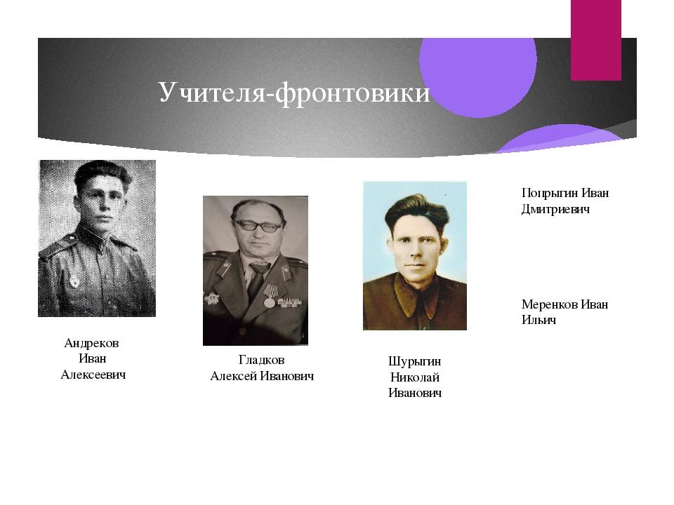 Шурыгин николай иванович воронежская область