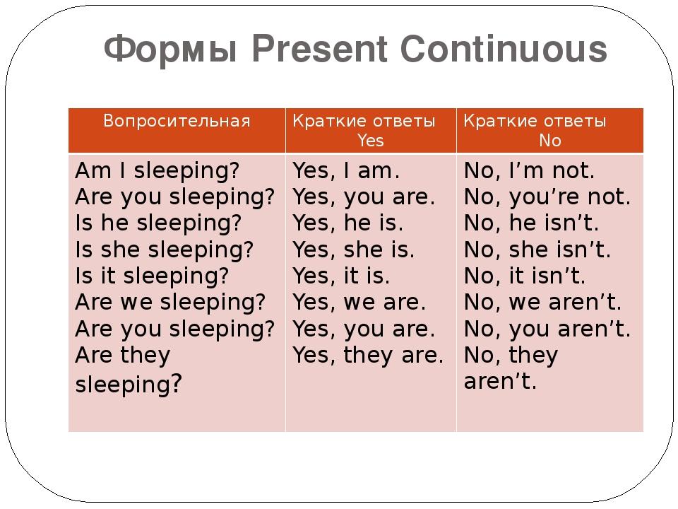 Present Simple Angielski na 6tke uczymy online