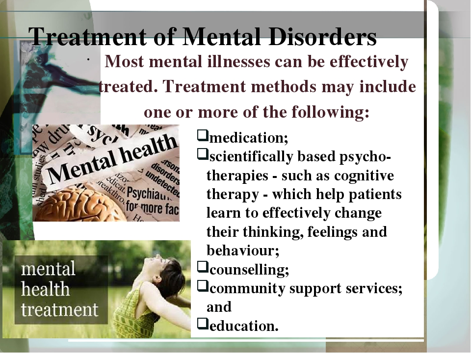 misrepresentation of mental illnesses People receiving treatment for mental illnesses are no more violent or dangerous than anyone else in fact they are more likely to be the victims of violence than the attackers accuracy reports myths or misconceptions about mental illness.