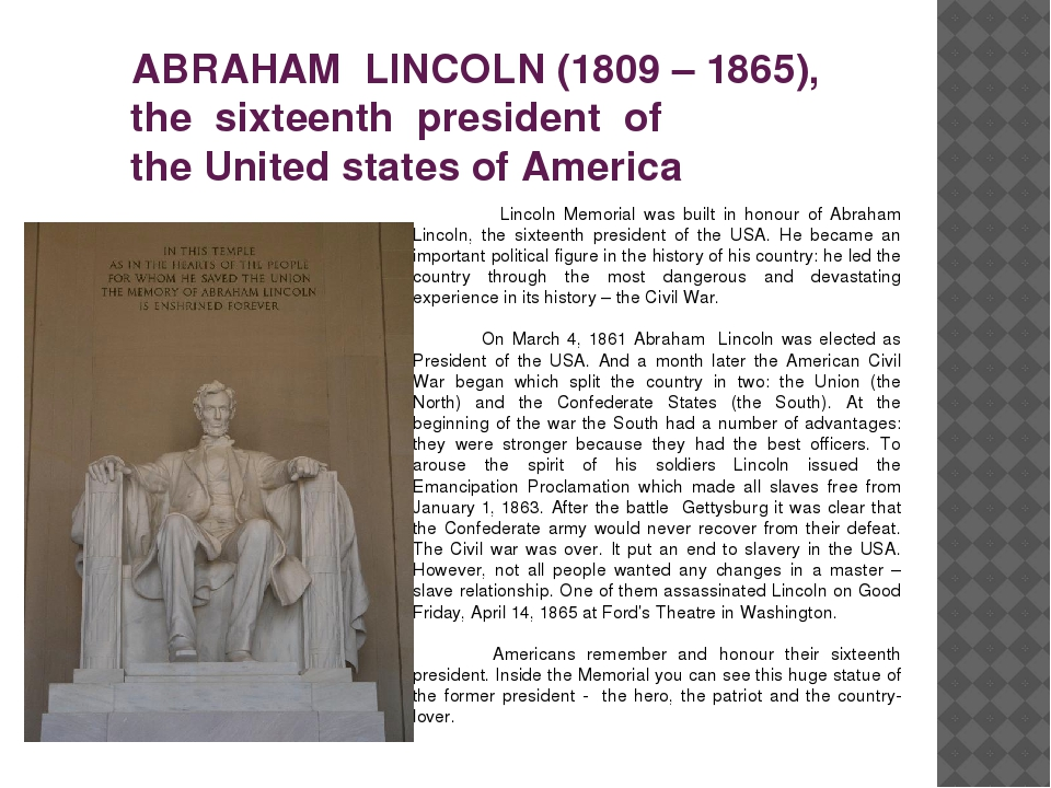abraham lincolns strong desire to free all slaves
