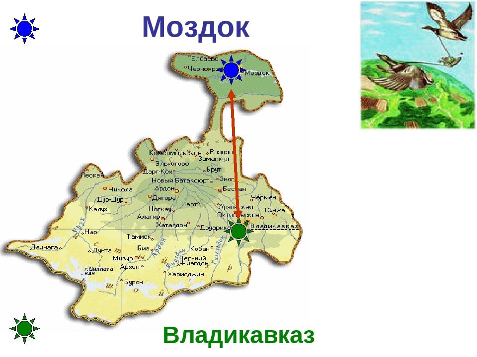 Моздок Владикавказ