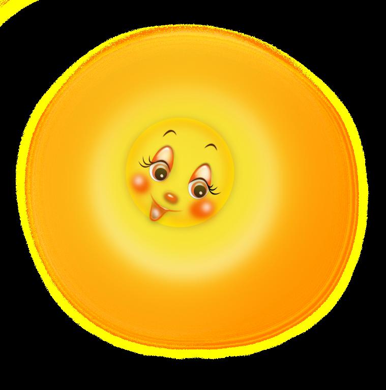 Картинка солнышко с лучиками для детей на прозрачном фоне анимация