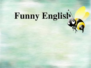 Funny English