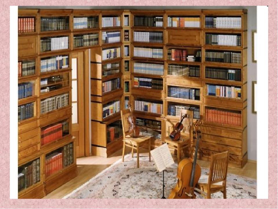 Книжный шкаф из массива.