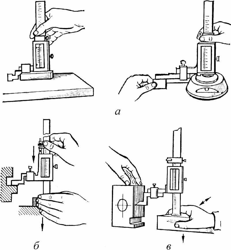 как пользоваться штангенрейсмасом