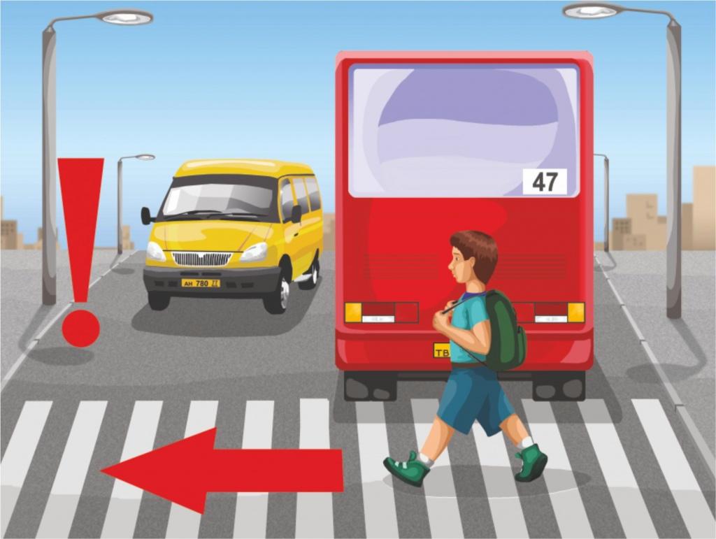 Картинки правил дорожного движения для детей