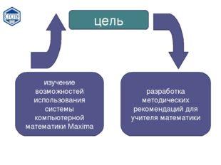 цель изучение возможностей использования системы компьютерной математики Maxi