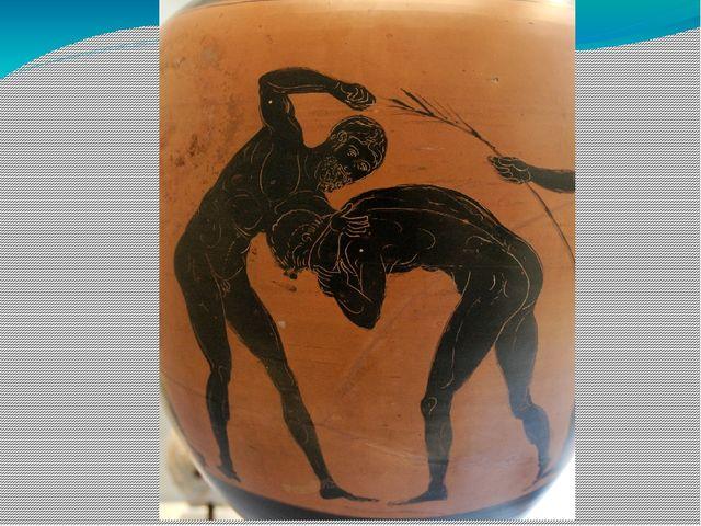 повара борцы рисунок на древнегреческой вазе берегах белого моря