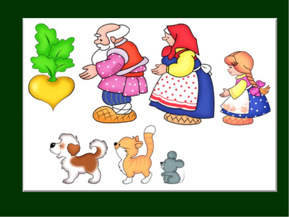 Картинки героев сказки репка для детей