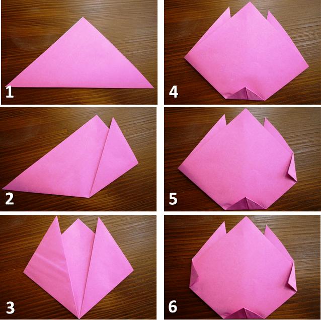 Как сделать тюльпан на открытку из бумаги, открытки