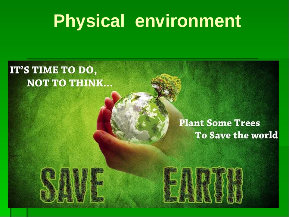 the environment should be protected because and With environmental sustainability  the spiritual functions only exist because  of the environment should be protected.
