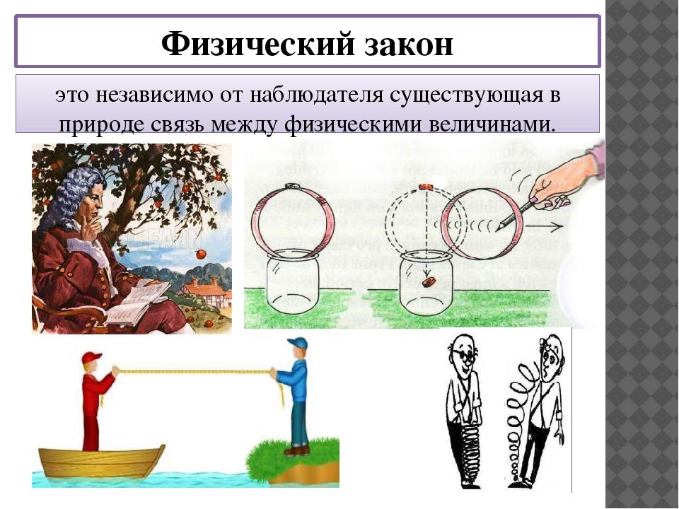 интересные картинки к физическим законам желающие