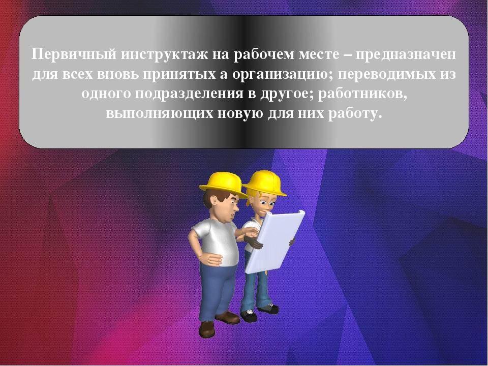 вводный инструктаж картинки для презентации