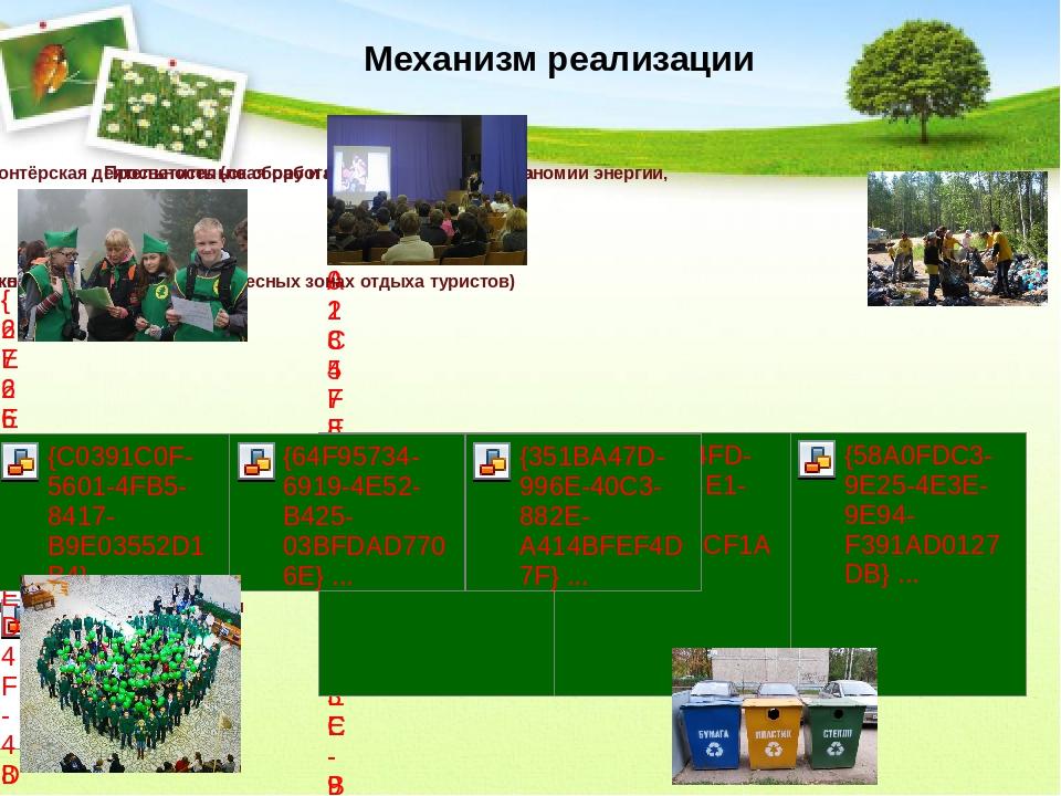 Механизм реализации При реализации проекта мы будем учитывать активную волонт...
