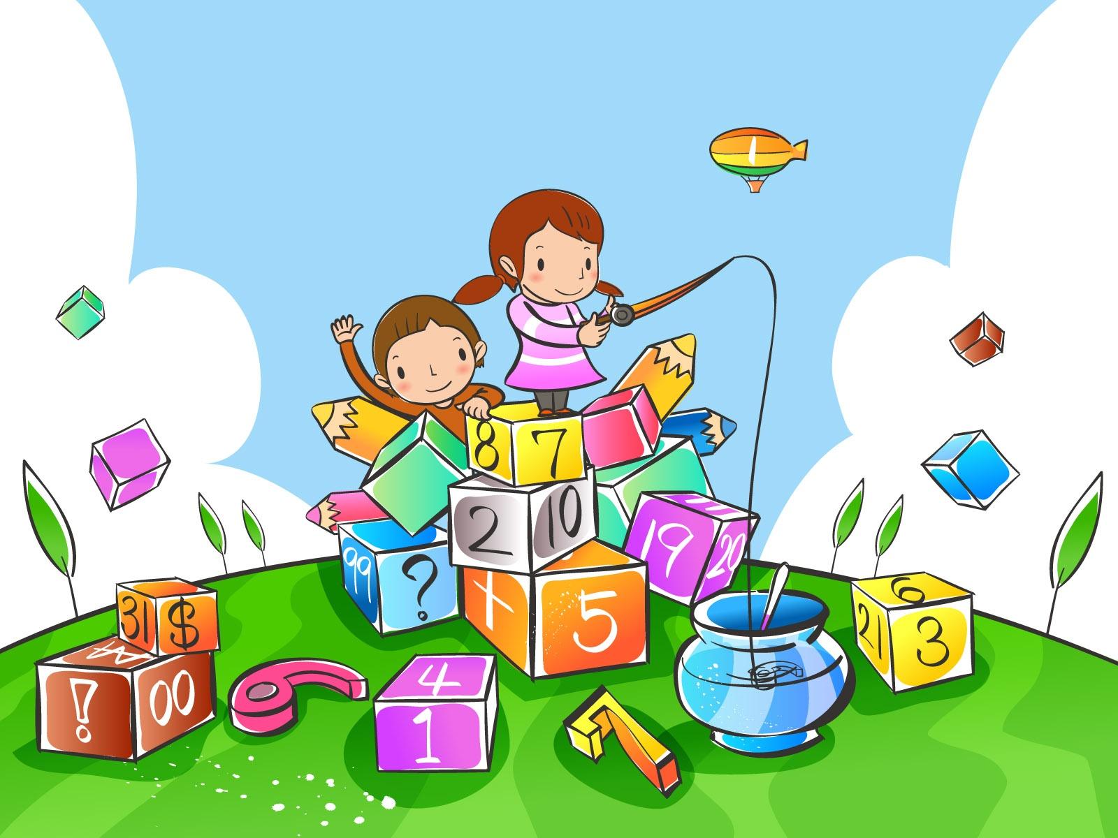 Детская картинка игры для презентации