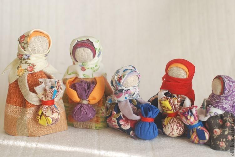 Красивая народная кукла своими руками 82