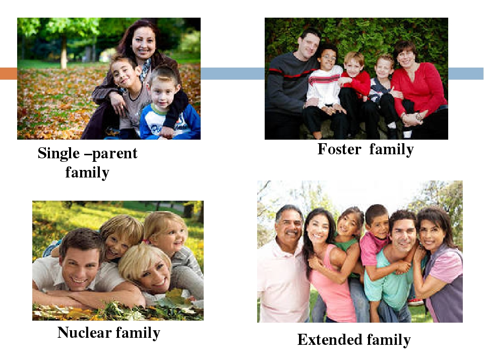 single parenting vs nuclear parenting Types-of-families~american academy of pediatrics (aap) discusses the stress of being a single parent.