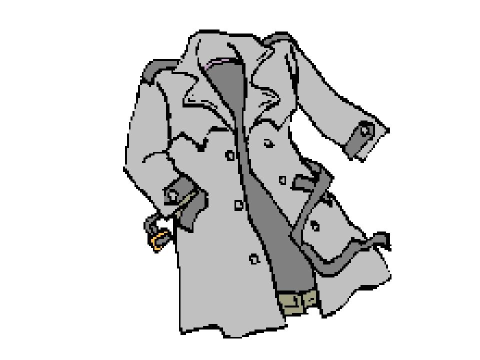 Днем, анимация картинки одежды