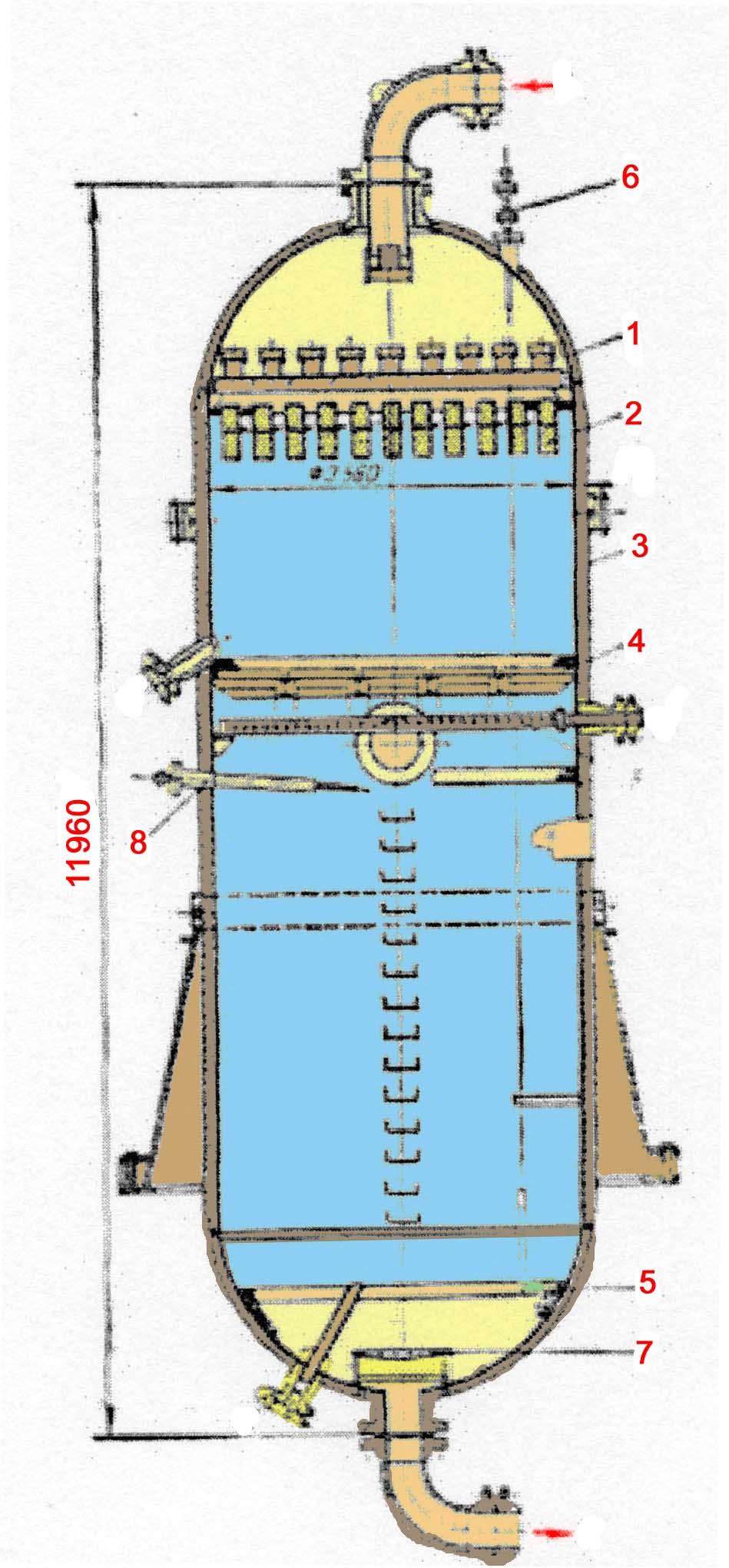 Схема монтажа реакторов