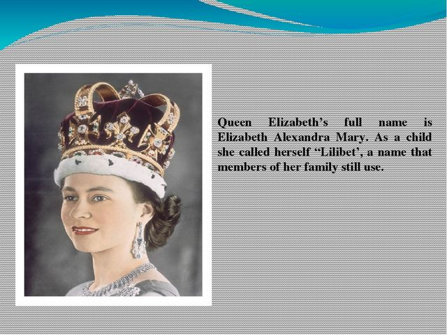 a discussion on queen elizabeth is use of language
