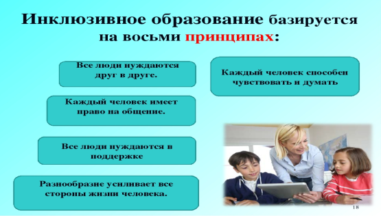 Доклад на тему инклюзивное образование 4055