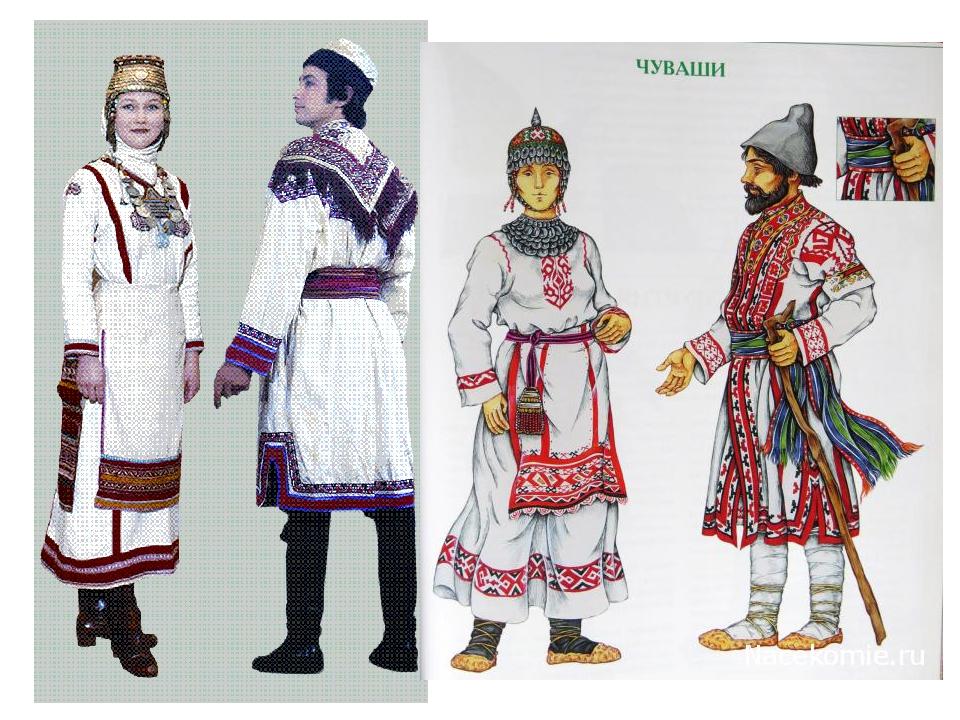 это картинки национального костюма чувашей это