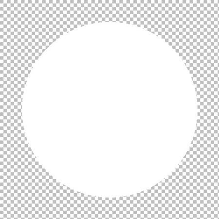 Как сделать белый круг на