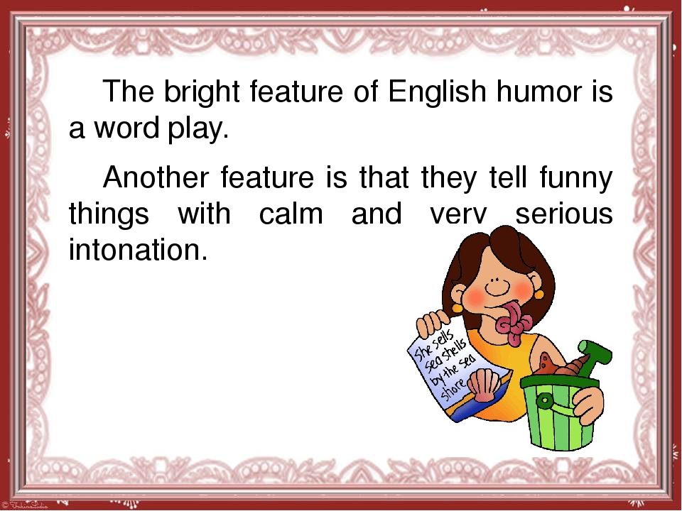 the language of humor Humor is the key to teaching english as a second language check out this article, you may find it helpful.