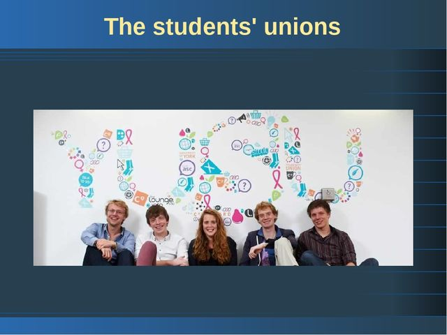 The students' unions