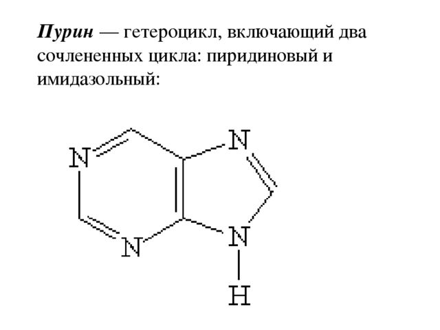 Понятие об азотсодержащих гетероциклических соединениях конспект к уроку в 11 классе