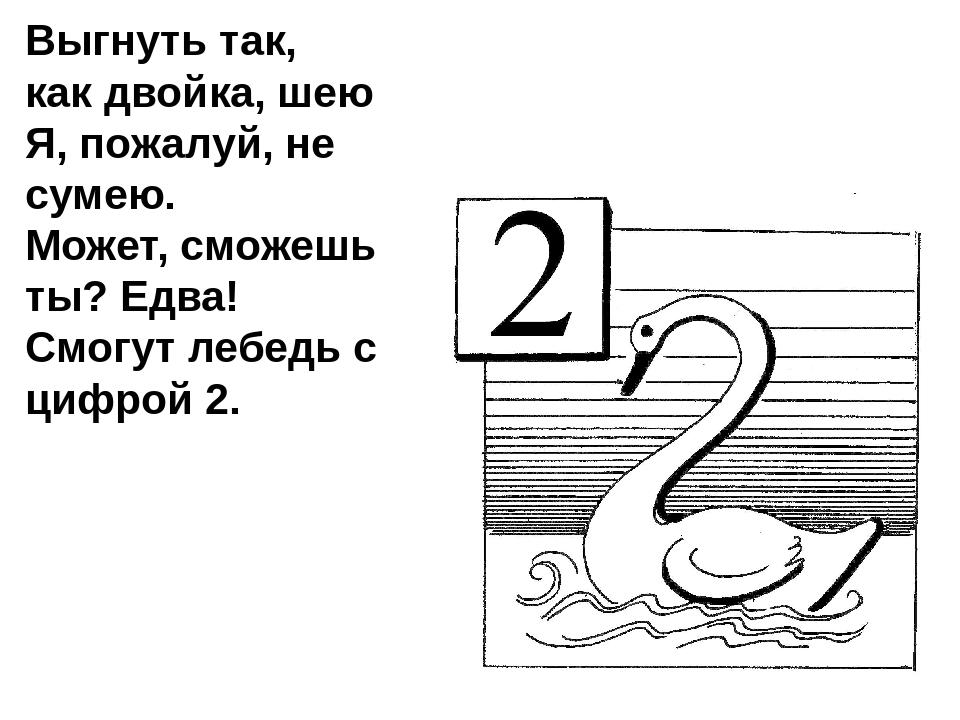 лебедь цифра два в картинках останется
