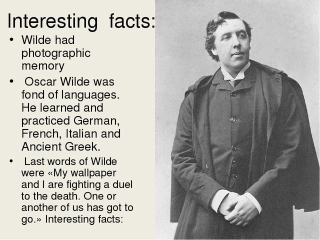 facts about oscar wilde essay Walter pater: walter pater, english critic, essayist,  appreciations (1889) is a return to the critical essay,  oscar wilde, george moore, and the aesthetes of the 1890s were among his followers and show obvious and continual traces both of his style and of his ideas.