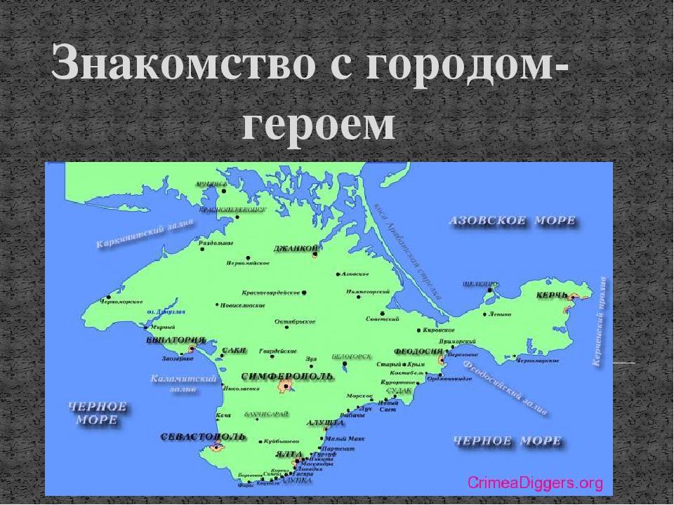 Знакомство С Городами Героями