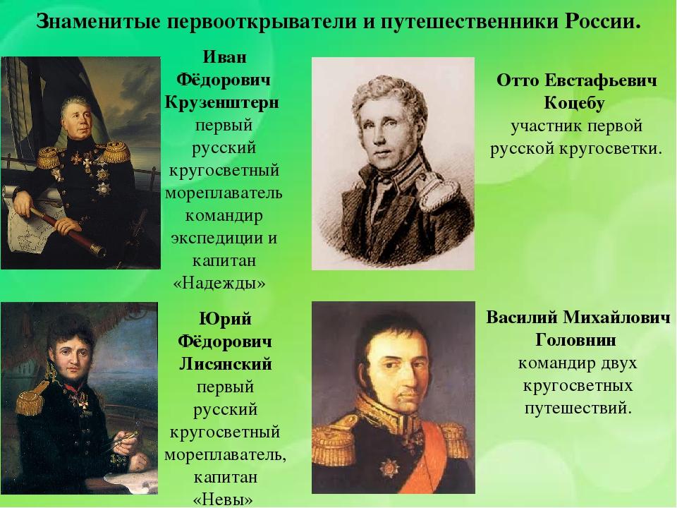 Картинки первооткрывателей россии