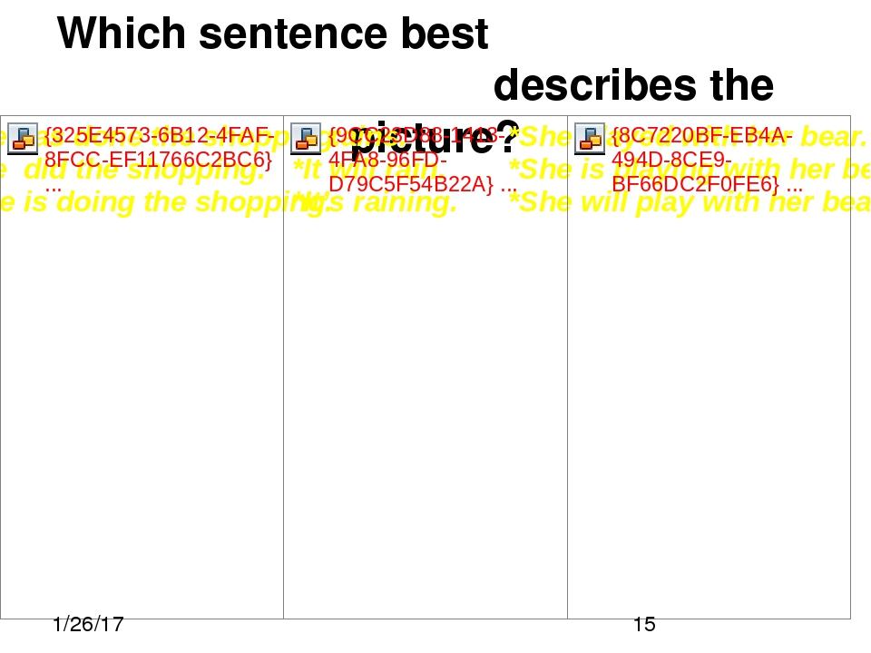 Which sentence best describes the picture?