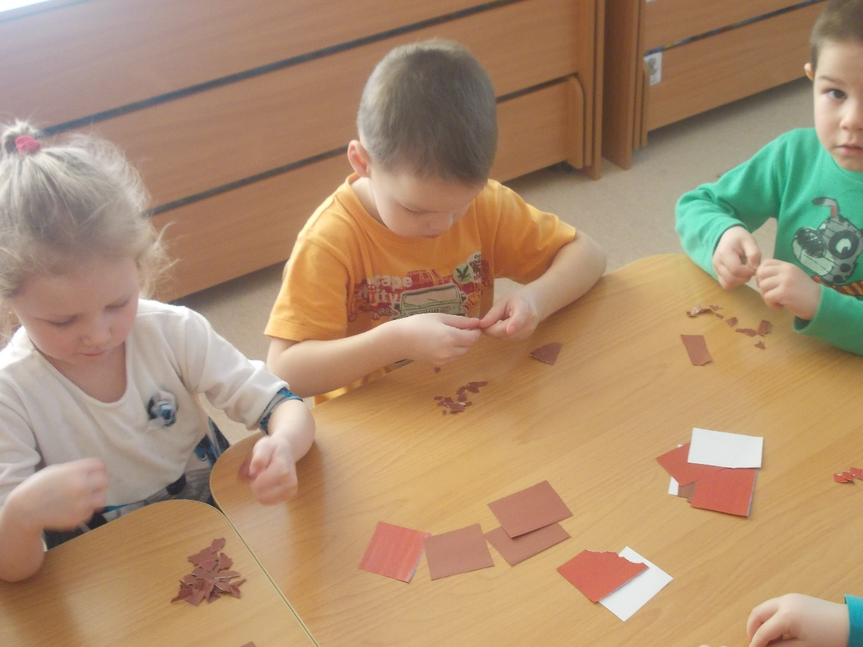 Аппликация мишка в старшей группе детского сада