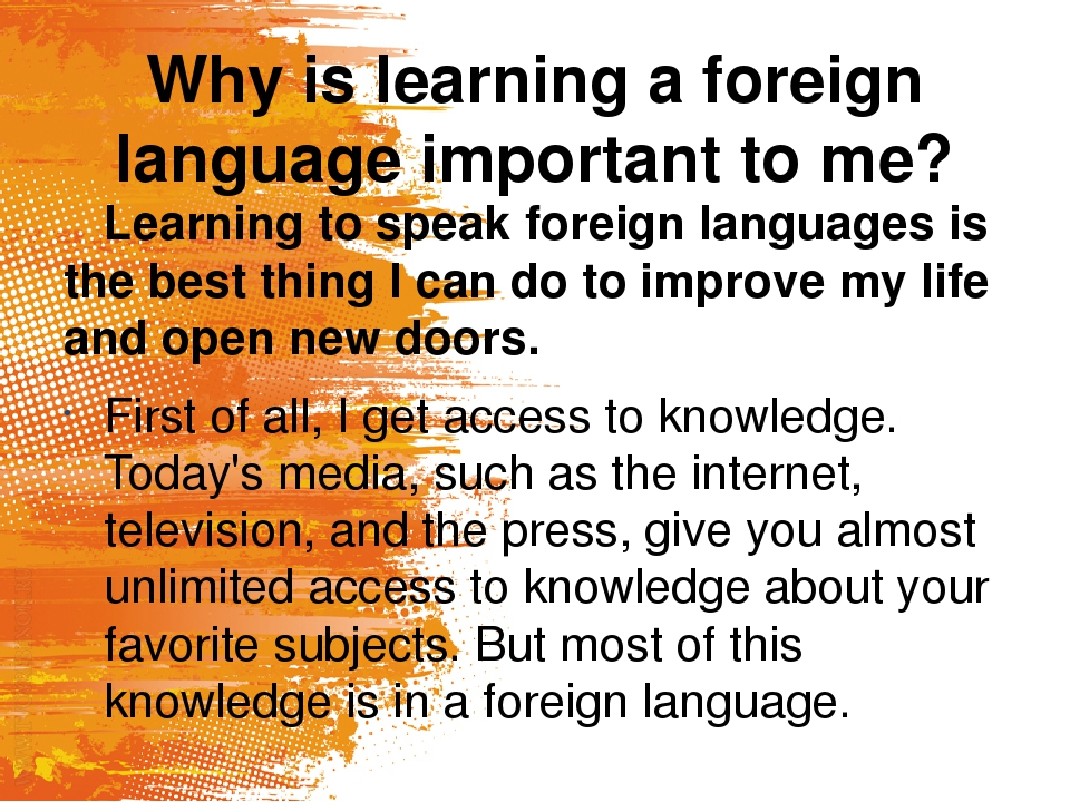 english the most important language of today Why english is important: it's the lingua franca though i have experienced great success and enjoyment from languages other than english, whether we like it or not, english is the most useful language in the world.