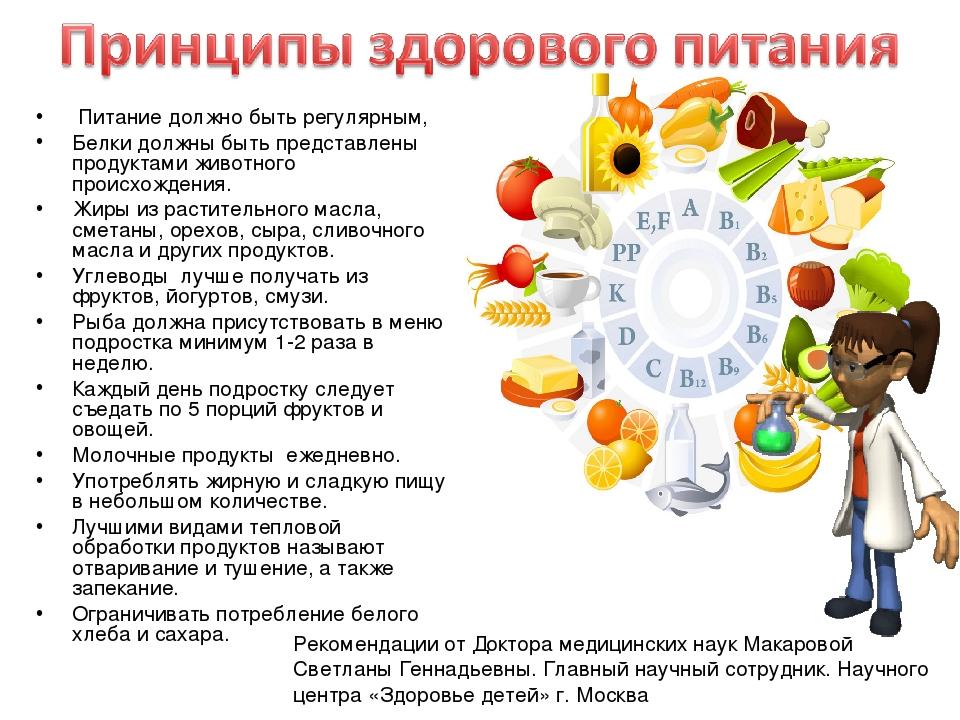 Диета Правильного Питания Для Подростков. Правильное питание для подростков для активизации процессов роста