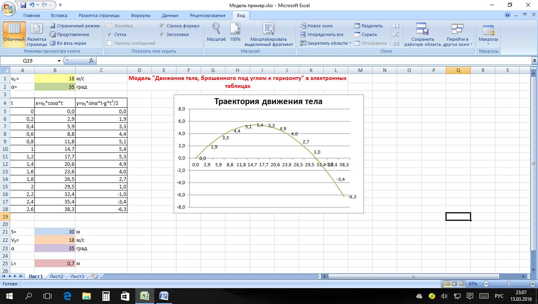 Практическая работа по информатике исследование моделей работа в воскресенск