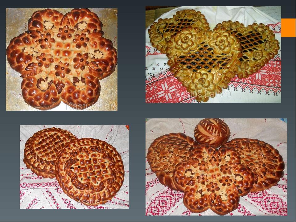 Приготовления дрожжевых пирогов в картинках