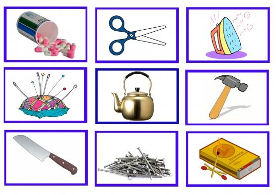 Картинки по запросу опасные предметы в быту дети