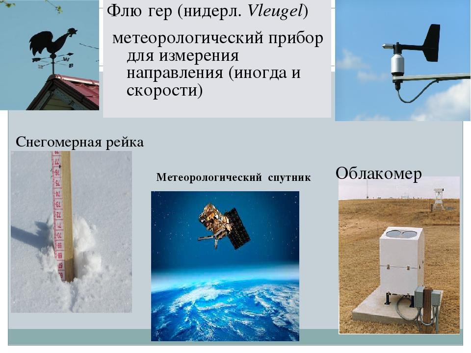 Картинки приборы измерения погоды