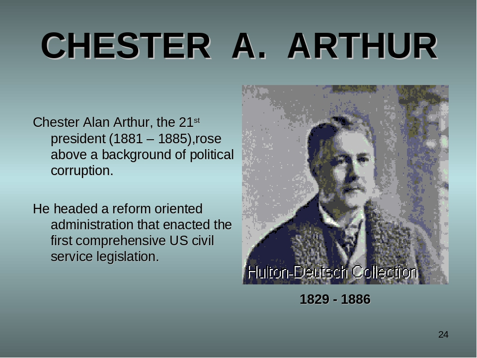 an introduction to the life of chester alan arthur Chester alan arthur never dreamed that one day he would be president of the chester arthur may be largely forgotten the life of chester alan arthur by:.