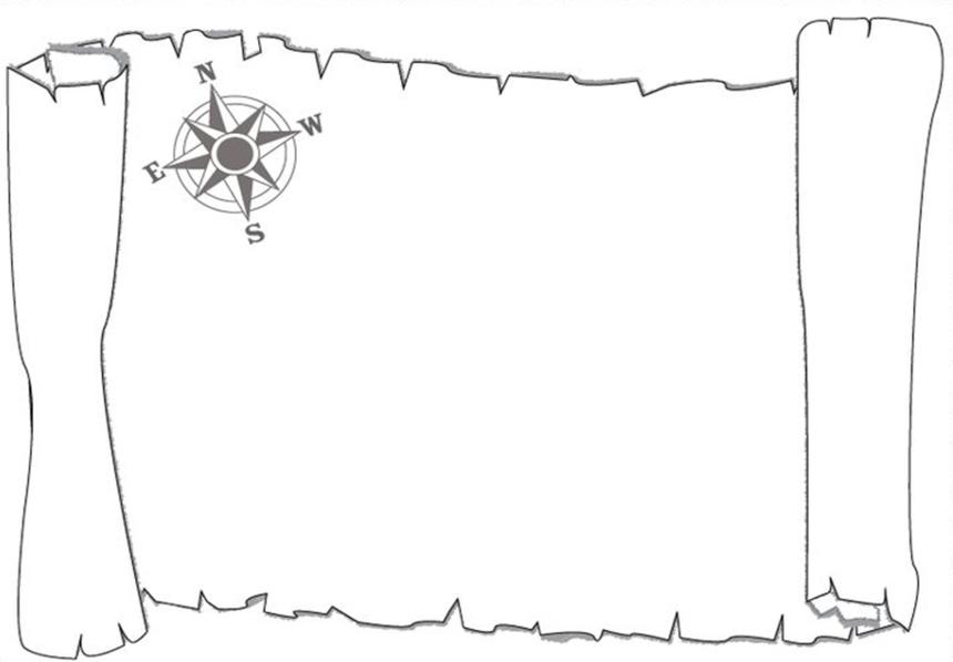Распечатать картинки для карты сокровищ