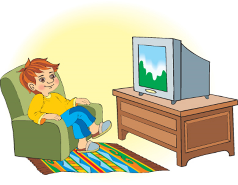 Телевизор и книги картинки для детей