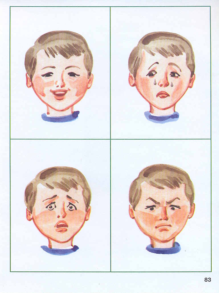 самый картинки с эмоциями для малышей пора сделать