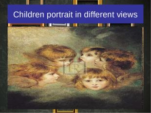 Children portrait in different views
