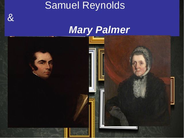 Samuel Reynolds & Mary Palmer