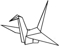 Рисунки с оригами